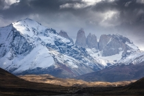 An unbelievable welcoming scene during my first few minutes in Torres del Paine Chile  bloveimages