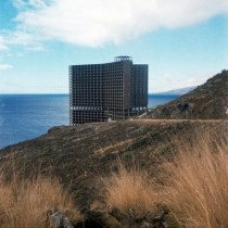 An unfinished hotel haunts a Spanish coastline