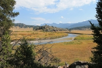 An Unfolding Landscape - Slough Creek Yellowstone NP