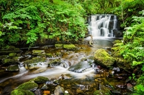 An unnamed waterfall - Gleniff Horseshoe Ireland