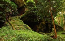 Ancient Burial Caves of Zuiganji Temple in Matsushima Japan x