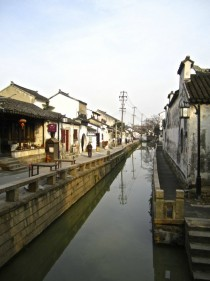 Ancient Canals in Suzhou China
