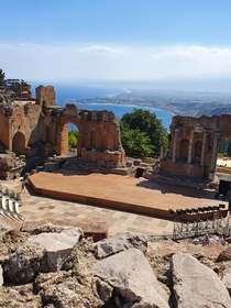 Ancient city of Taormina Sicily Italy