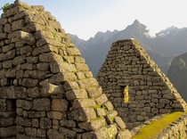 Ancient Inca House at Machu Picchu Peru  OC