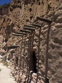 Ancient Pueblo ruins anyone Bandelier national monument