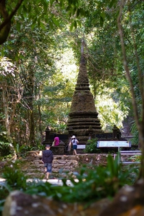 Ancient Shrine in Khao Yai Park Thailand