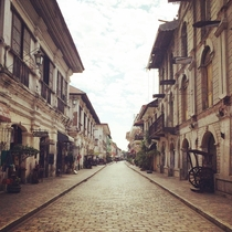 Ancient Spanish city of Vigan Philippines