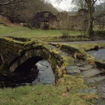 Ancient Stone Bridge Lancashire England Photo source is unknown