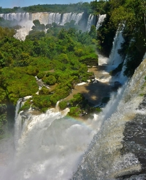 And after all its a waterfall wall Iguazu Argentina