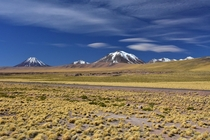 Andes Mountains near San Pedro de Atacama Chile