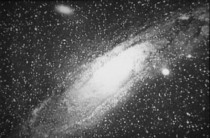 Andromeda Galaxy as first observed by Isaac Roberts