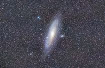 Andromeda Galaxy M taken last week