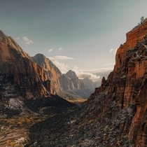 Angels Landing in Zion National Park x  brandosco