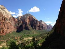 Angels Landing - Zion National Park UT - OC