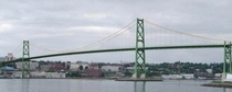 Angus L Mcdonald Bridge in Halifax Nova Scotia