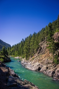 Animas River Colorado - From the Durango-Silverton Train  OC