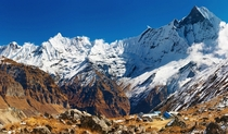 Annapurna Base Camp Nepal Taken by Dmitry Pichugin