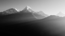 Annapurna mtft Nepal - th highest mountain in the World