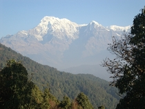 Annapurna South from my hikingtrip in Nepal last year