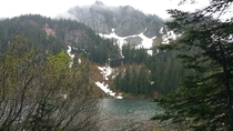 Annette Lake Snoqualmie Pass Washington State