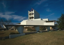Annie Pfeiffer Chapel at Florida Southern College part of Frank Lloyd Wrights Child of the Sun