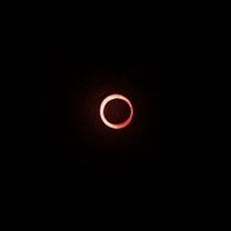 Annular Solar Eclipse  Mangalore India