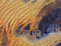 Another amazing satelite image of the Sahara Desert in Algeria taken by Japans ALOS satellite