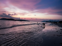 Another beautiful sunset in Chenang beach - Langkawi Malaysia