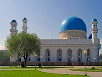 Another central mosque in Almaty Kazakhstan