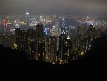 Another night shot from Hong Kongs Victoria Peak after my trip there last week