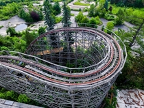 Another of The Big Dipper at Geauga Lake Ohio  now torn down Footage included