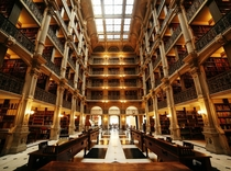 Another one I took of the Peabody Library Baltimore MD