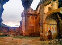Another photo I took in Belchite of a bombed out church where much of Pans Labyrinth was filmed  by Ian Paul