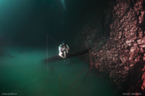 Another picture from Angelita Cenote the underwater river of hydrogen sulfide  by Anatoly Beloshchin