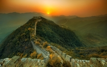 Another picture of the Great Wall of China  by Trey Ratcliff