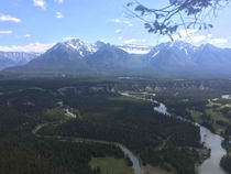 Another pretty damn nice view to wake up to Banff Canada