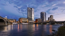 Another relatively small city my city Grand Rapids Michigan USA