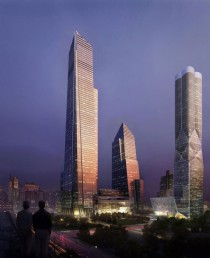 Another render of the Hudson Yards towers NYC