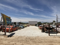 Another salton sea share Dilapidated drive in theater