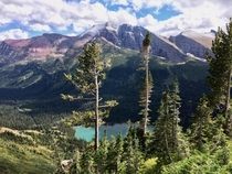 Another shot of Grinnell Lake GNP