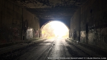 Another shot of the abandoned PA Turnpike Tunnel