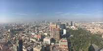 Another smoggy day in Mexico City