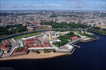 Another star fort - Peter and Paul Fortress Saint Petersburg Russia
