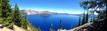 Another view of Crater Lake Oregon