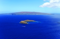 Another view of the Molokini Crater near Maui
