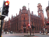 Another view of the Refuge Assurance Building Manchester England architected by Alfred Waterhouse Paul Waterhouse amp Stanley Birkett inaugurated