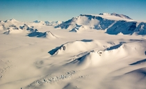Antarcticas CTAM Central Transantarctic Mountains taken during my Basler flight back from the South Pole full album in comments
