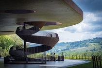 Antinori Winery Chianti Italy designed by Archea Associati in