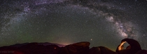 Anyone else getting excited for the upcoming Milky Way season Panorama shot at Alabama Hills California
