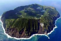 Aogashima Island A volcanic Japanese island in the Philippine Sea